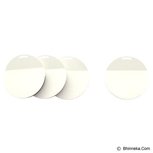 IKEA PRODUCTS Spontan Magnet 4pcs [301.640.71] - White (V) - Magnet / Tempelan Kulkas
